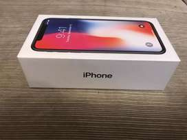 Brand new Non Activated iPhone X (64 and 256 GB)