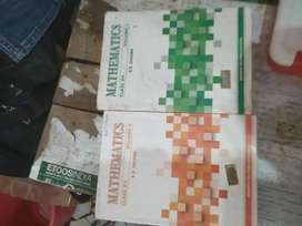 R.D Sharma mathmatics book both part 1 and 2