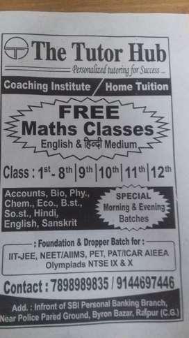 Home tutor need
