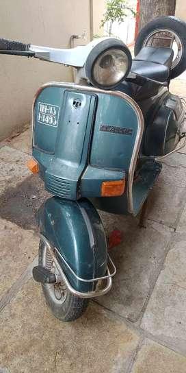 Old Bajaj scooter