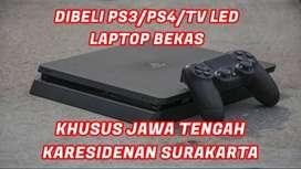 Tawarkan saja yang mempunyai PS3/PS4/TV LED,LAPTOP Second, Kami Beli