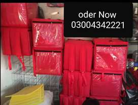 Resturants and stores delivery bags for riders