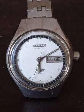 Citizen 4-280393KT  74-7394 vintage dan klasik jam tangan wanita