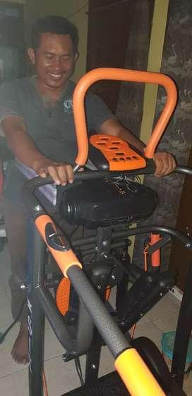 Treadmill manual 7f merah PROMO DISCONT