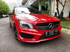 [KM 20.000] Mercedes Benz CLA 200 AMG Merah