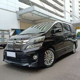 Toyota Vellfire ZG Premium Sound 2013 Tgn 1 Hitam Well Maintained