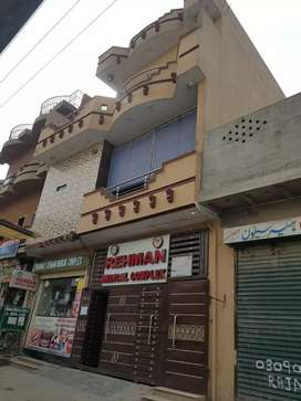 Three storey Plaza house & complete medical complex and Pharmacy sale
