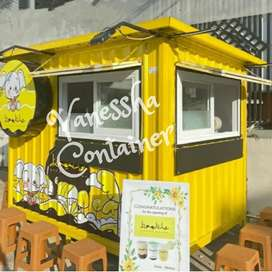 BOOTH SEMI CONTAINER / CONTAINER CAFE / BOOTH CONTAINER USAHA