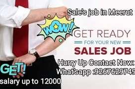 Hurry up Sale job in meerut