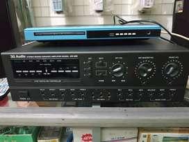 Dijual 1 set ampli mixer 3G audio tipe k400 dan dua speaker 3G