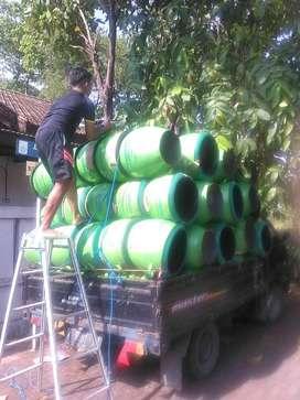 Tong sampah untuk area perkantoran   Bak sampah motif unik