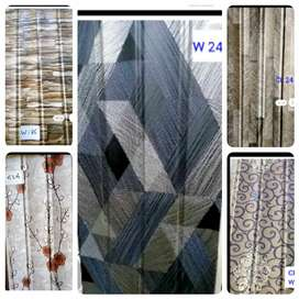 PVC wall panels (interior works)
