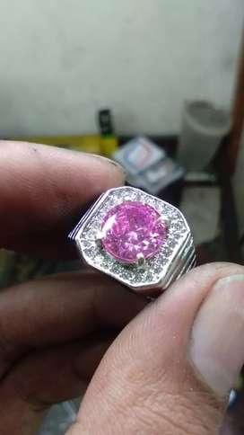 Diamond pink mossainte full luster