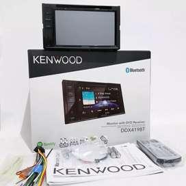 Ddin Kenwood DdX419BT, Resmi