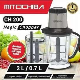 Ready mitochiba food processor CH 200, bjm bsa cod 700 rb