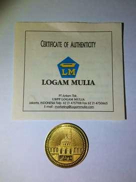 1 Dinar Antam 4,25 gram retro Logam Mulia