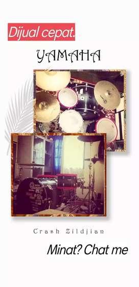 Drum Yamaha Crash zildjian