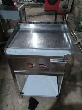 Hotplate 24*24 satinless steel body available