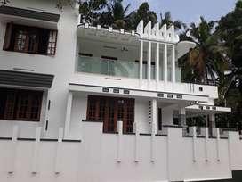 Newly built contemporary style independent house near powdikonam