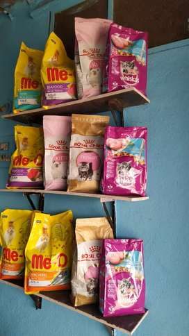 Cat and dog food. With discount