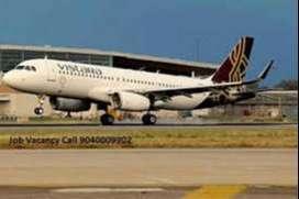 vistara Airline Urgent hiring for groundstaff ,Ground / Airport Statio