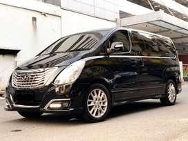 [DP80jt] Hyundai H-1 2.4 Royale AT 2016 Hitam [autowhiz]
