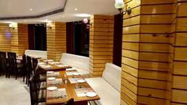 150 seater A/c restaurant furniture on sale