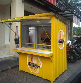 Container jualan/container usaha/container dagang