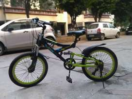 Cycle with 6 gears, Suitable for age upto 11 years,