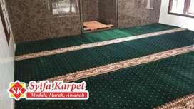 Karpet masjid premium tebal bayar stalah barang sampai