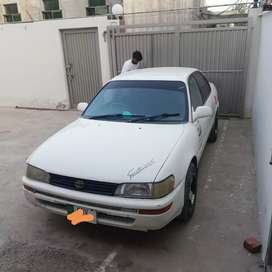 Corolla 1999 model Ac in good condition only documents are cleared