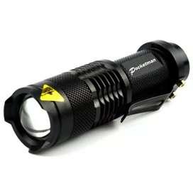 Senter LED 2000 Lumens Waterproof Pocketman P1