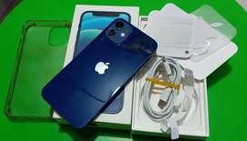 IPHONE 12 64Gb Resmi IBOX Garansi ON Mulus Fullset