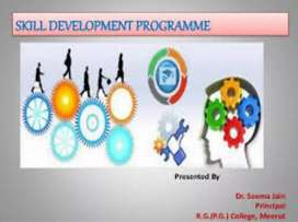 SKILL DEVELOPMENT PROGRAMME, FREE TRAINING FOR SC AND ST  COMMUNITY