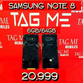 TAG ME SAMSUNG NOTE 8 LITE USED MOBILE