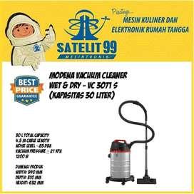 Modena Vacuum Cleaner Wet & Dry - VC 3071 S (Kapasitas 30 Liter)