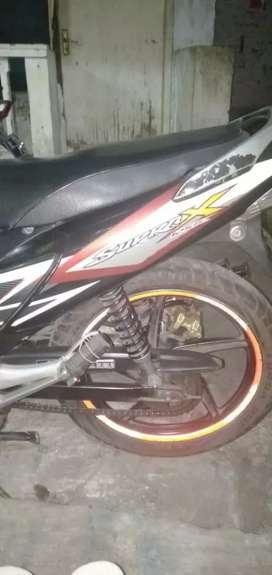 Honda supra x 125 tahun 2012