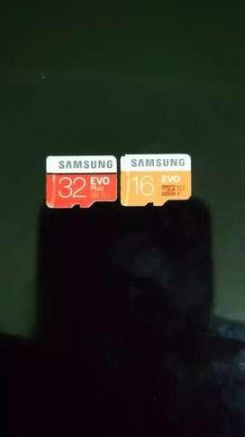 Micro SD 32 & 16 GB