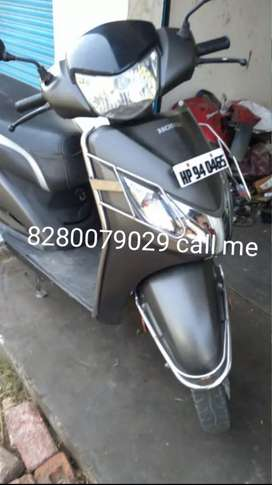 Activa super mileage new with battery
