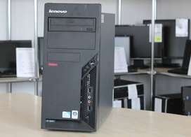 Branded Used Lenovo Tower C2d Desktop Cpu Ram 4gb Hdd 320gb in 3990/-