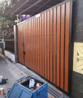 Pemasangan pagar grc dijamin tahan air modern 55