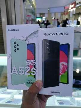 SAMSUNG A52S NEW RAM 8/256 5G MONGGO