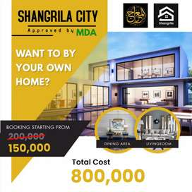 Make your dream house in shangrila city starting 10,000 monthly