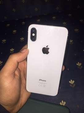 iphone x silver 64 GB