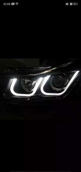 Cruze headlight headlamp bmw style