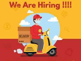 Delivery work full time job