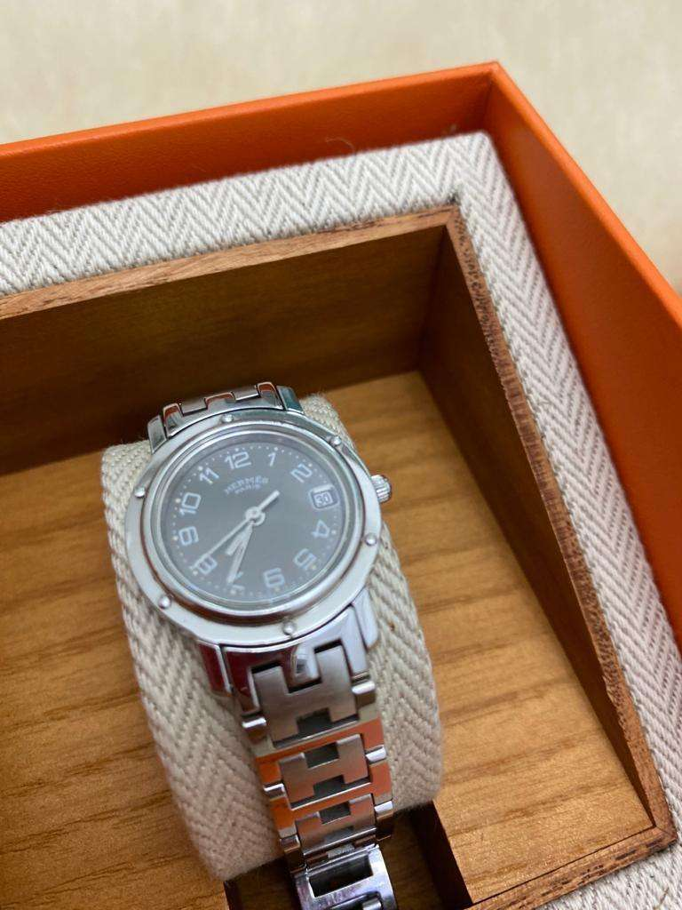PRELOVED HERMES WATCH WOMAN . MULUS !! Negotiable 0
