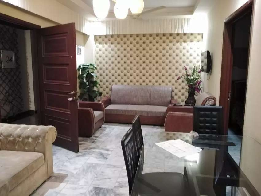 TWO BEDROOMS FURNISH APARTMENT RESIDENTIAL FOR RENT BAHRIA PHASE 1 0
