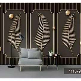 Kesempurnaan Wallpaper dinding custom nuansa alam