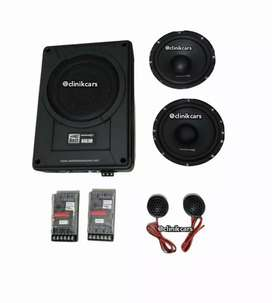 • Paket Audio Mobil 2way Altitude, Wofer Bang Bass